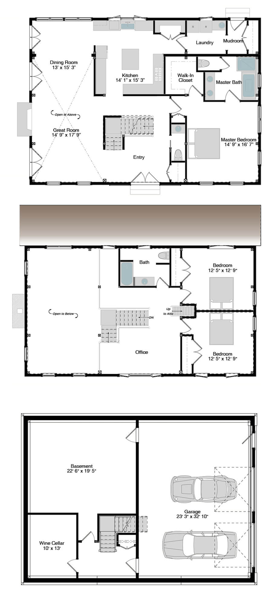 Haley floor plans american post beam homes modern for American barn house plans